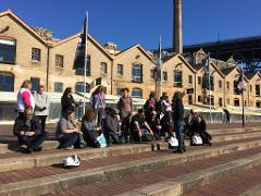 Poihākena tours: stories of Māori in Sydney. Private tours and groups.