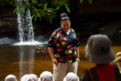 Irrawong Reserve  - Koori Kinnections excursion for schools and vacation care groups