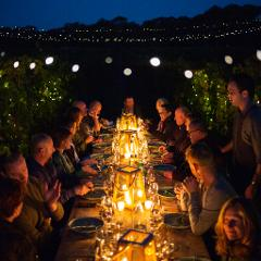 WINE AND DINE UNDER THE STARS IN OUR VINEYARD IN THE HEART OF THE COONAWARRA WINE REGION
