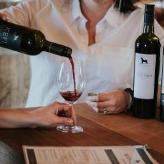AN EXCLUSIVE TASTING FLIGHT OF OUR TOP SHELF PREMIUM WINES
