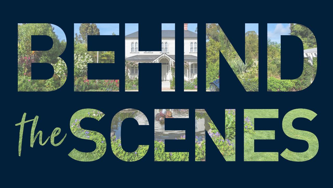 Behind The Scenes Tour of Hamilton Gardens