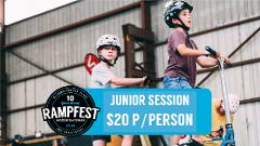 9am Junior Session (U14s) - Mixed Use
