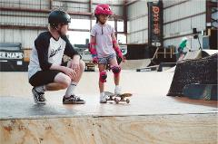 Skateboard Lesson - First Timers