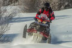 Single Rider Snowmobile: 6 Hour Rental