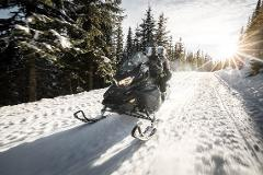 Grand Touring Snowmobile: 4 Hour Rental  (2 seater)