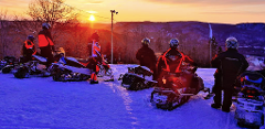 Single Rider Snowmobile: 4 Hour Rental