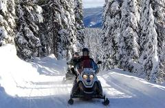 2 Hour Self Guided Snowmobile Tour (double rider)