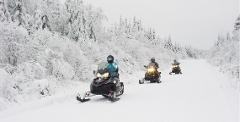 2 Hour Self Guided Snowmobile Tour (single rider)