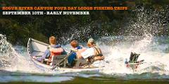 ROGUE CANYON FOUR DAY FISHING TRIP