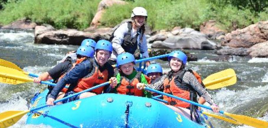 Cache la Poudre River Half-Day Rafting Trip