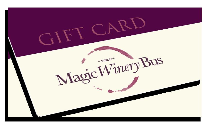 Magic Winery Bus Gift Card