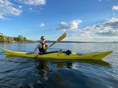 Self-service Kayak Rental (Bispevika, Oslo)