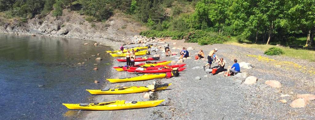 Oslo Fjord Sea Kayak Tour – Gressholmen