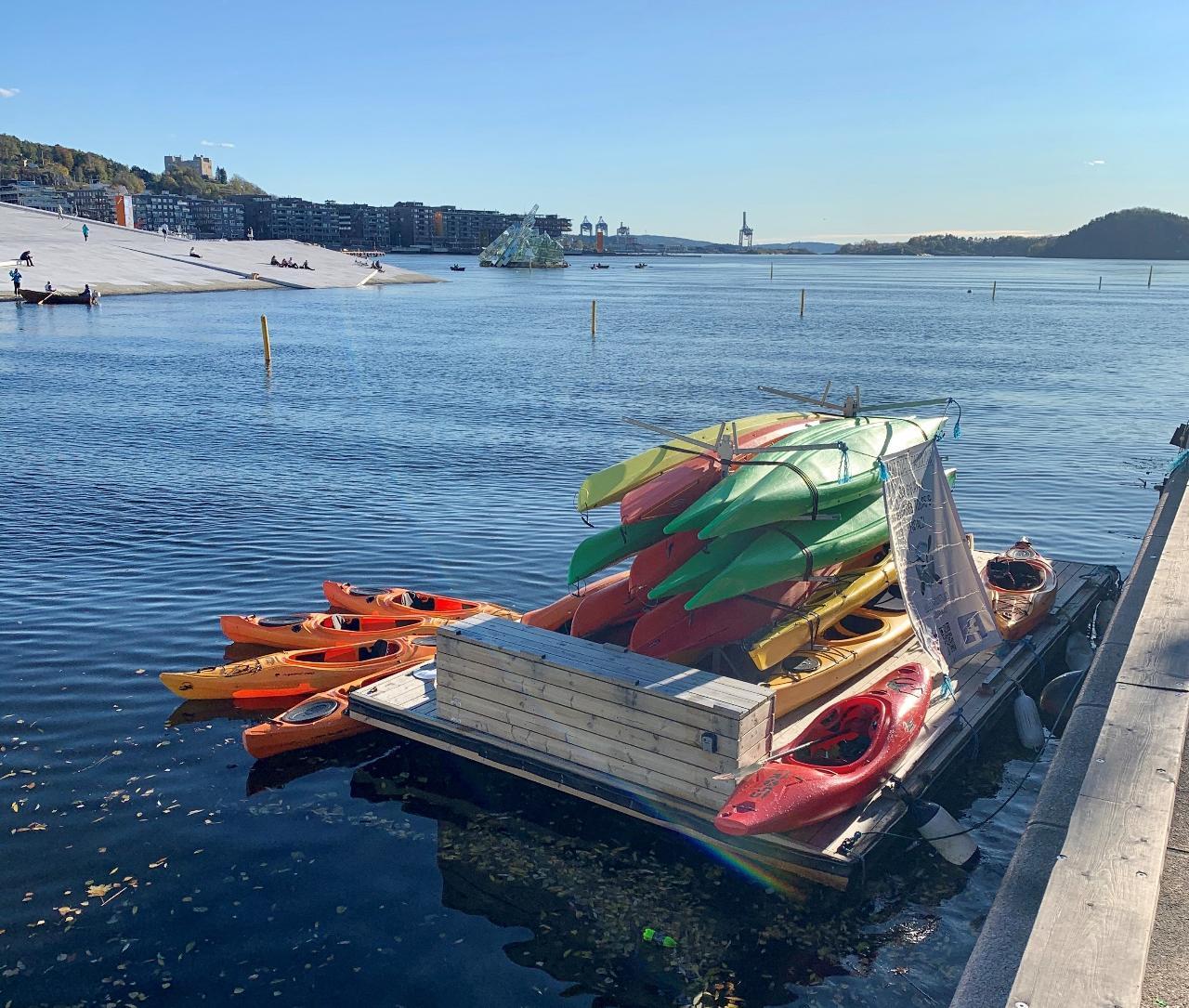 Self-service Kayak Rental (Langkaia, Oslo)