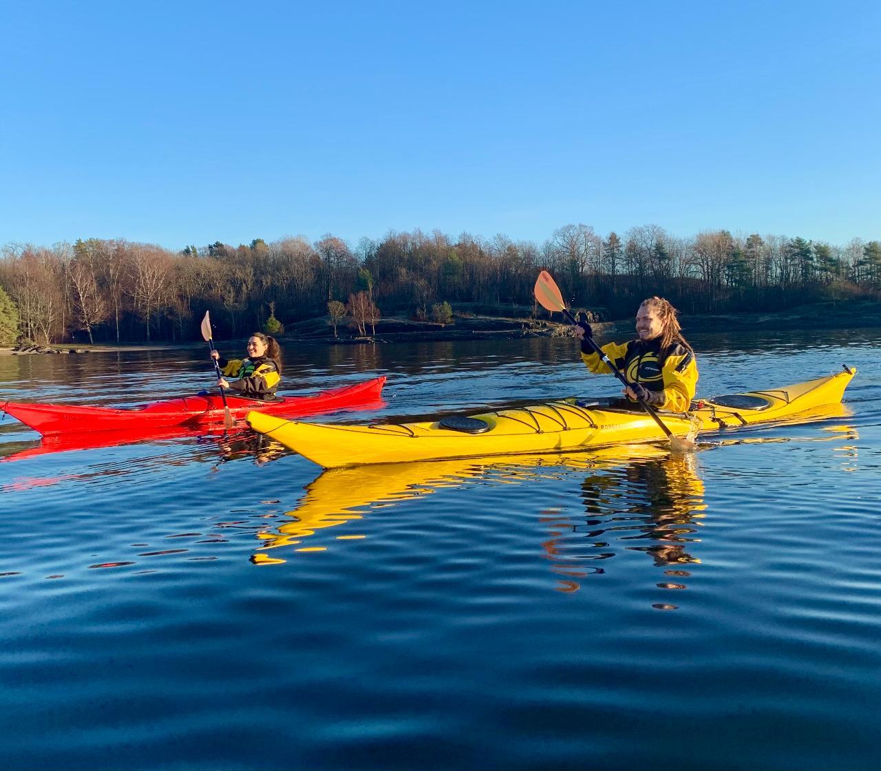 Winter Kayak Tour - Private Group