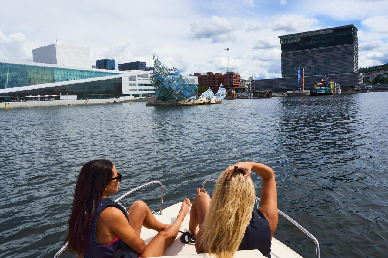 Oslo Harbour Electric Boat Tour
