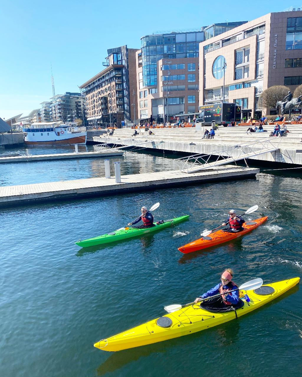 Sea Kayaking - Introduction Course - Aker Brygge