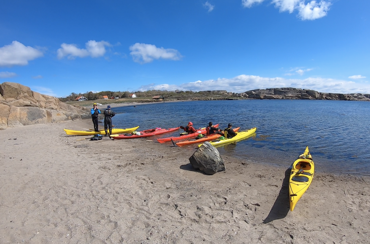 Sea Kayaking - Intermediate Course - Overnight Camping