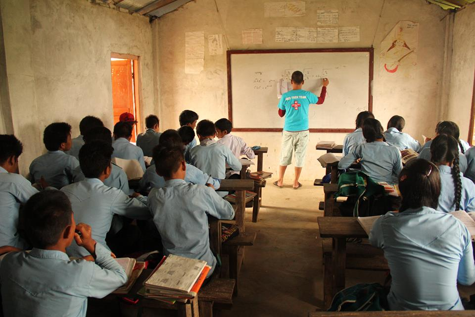 Teaching Trek Nepal