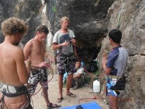 Rock Climbing Clinic in Kathmandu
