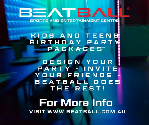 Beatball Birthday Party Package 10+ GUESTS Ages 5-18