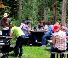 Paddles & Saddles Dinner Ride