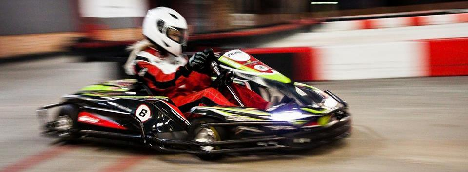 Racing at Bay Karts