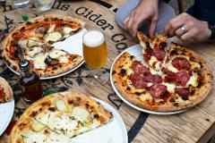 Mismatch Brewing Co Beer Paddle and Pizza Lunch at LOT.100