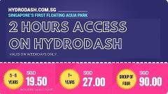 [Weekday Special] 2hrs pass - Purchase 1 hour and get 50% off 2nd hour