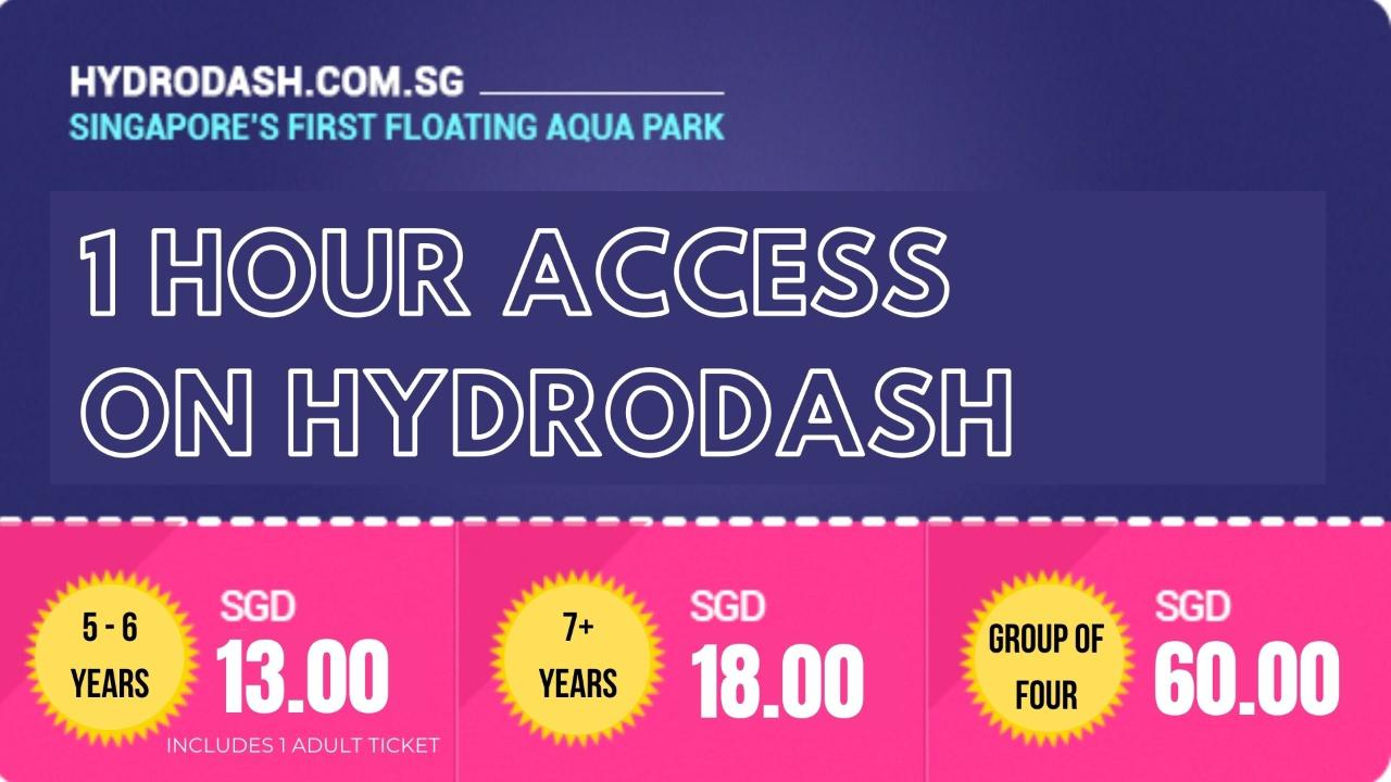 Adults & Kids Entrance Ticket – 1hr pass