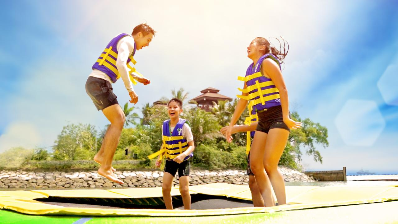 *Opening Special* Two-hours Access on HydroDash - Singapore's First Floating Aqua Park