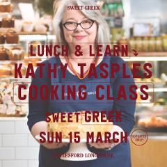 Lunch and Learn Cooking Class with Kathy Tsaples