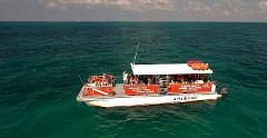 Jolly Roger 45' Power Catamaran Half Day Private Charter