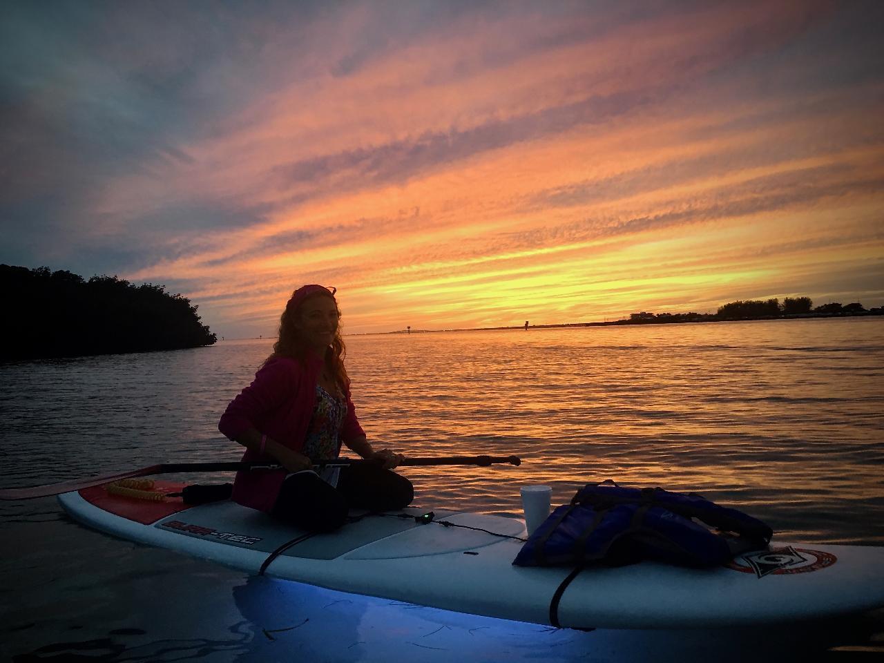 Night Kayak/SUP Lighted Florida Bay Tour @ Crane Point