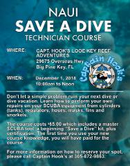 "NAUI ""Save A Dive"" Technician Course"