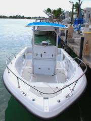 21' Triumph CC w/ 150 HP 4-Stroke (Boat 6)