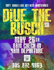 Big Pine Key Adolphus Busch Sr. Wreck Dive Trip