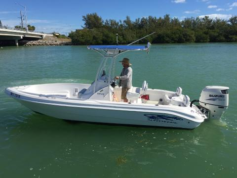 22' Glass Stream CC w/ 150 HP 4-Stroke (Boat 3)