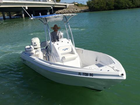 22' Glass Stream CC w/ 150 HP 4-Stroke (Boat 4)