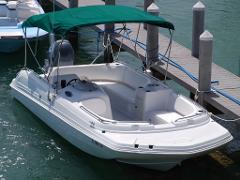 23' Deck Boat w/ 150 HP 4-Stroke (Boat 15)