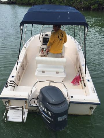 18' Grady White CC w/150HP 4-Stroke (Boat 13)