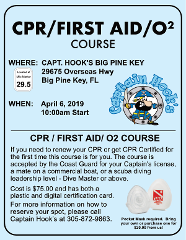 CPR/First Aid/O2 Course