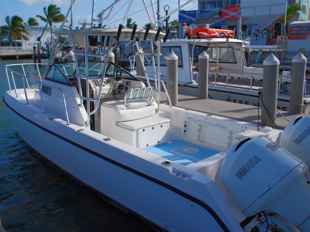 26' SeaCat CC w/ Twin 150 HP 4-Strokes (Boat 17)