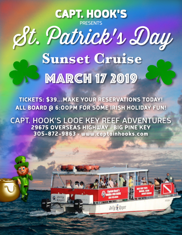 St. Patrick's Day Sunset Cruise