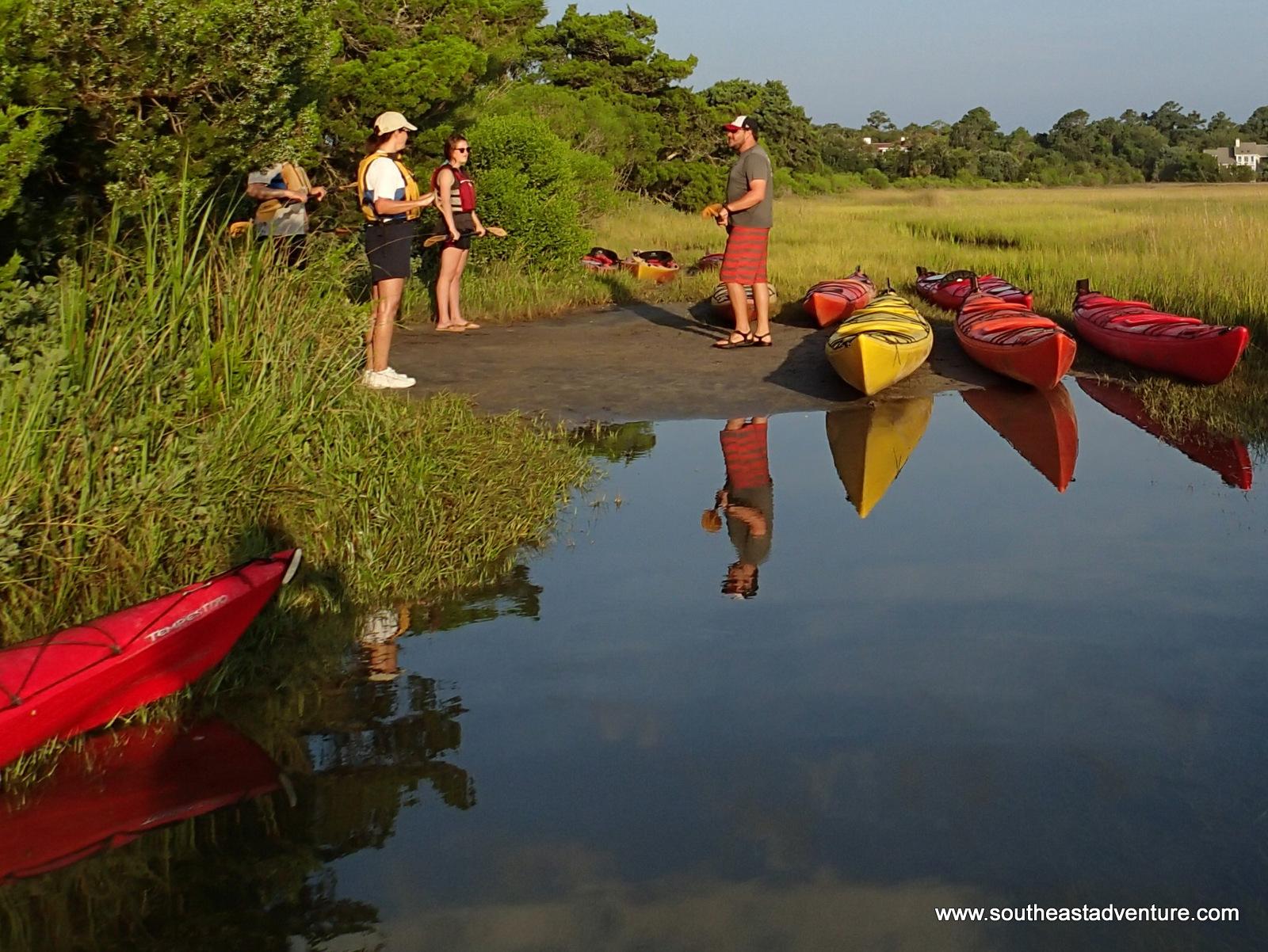 3 Hour St. Simons Kayak Tour (incoming tide)