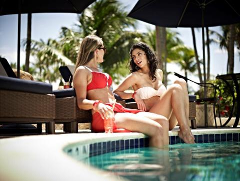 Massage Journey and Spa Day Pass at the Fort Lauderdale Marriott Harbor Beach