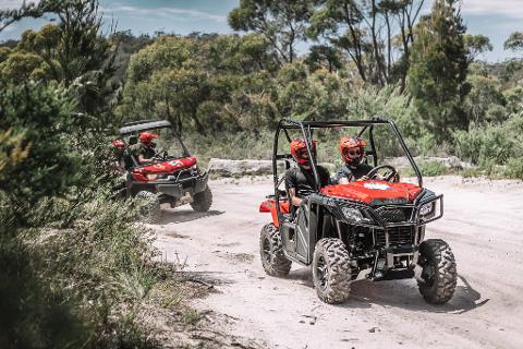 Half Day ATV Explorer – PASSENGER Tasmania Australia