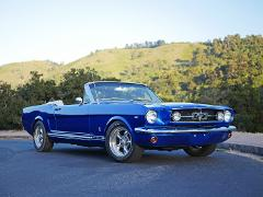 1965 Ford Mustang GT-Blue