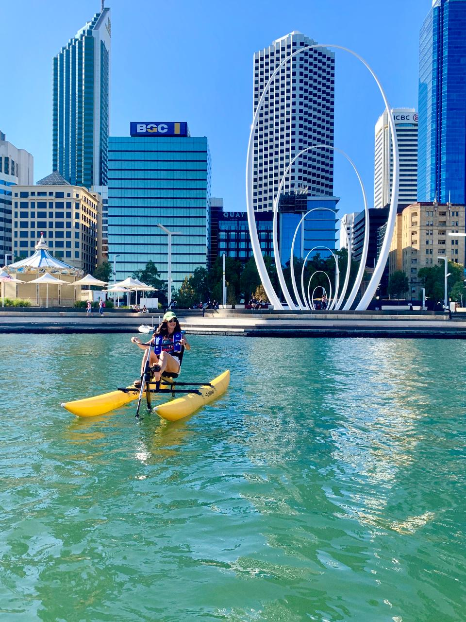 Perth City Skyline Pedal