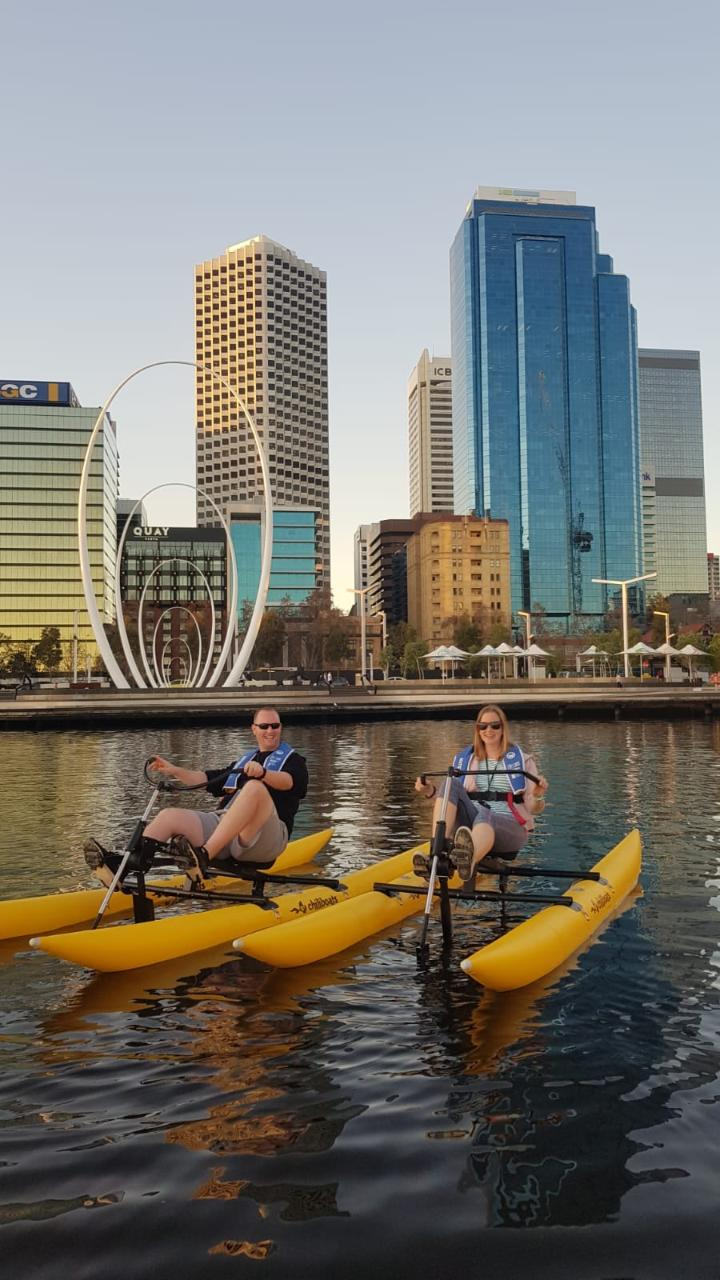 Sunset City Skyline Pedal